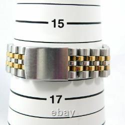 Rado Golden Horse Automatic Date Men's Gold Silver Vintage Watch Swiss