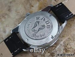 Rado Golden Horse Swiss Made Vintage Men 1960 Stainless St 35mm Auto Watch DE257