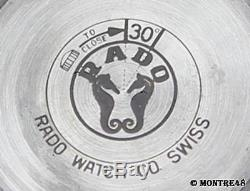 Rado Golden Horse Swiss Made Vintage Men 1960 Stainless St 35mm Auto Watch NV117