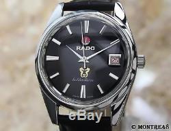 Rado Golden Horse Swiss Made Vintage Men 1960 Stainless St 35mm Auto Watch NV70B