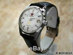 Rado Golden Horse Swiss Made Vintage Mens 35mm Stainless Steel Auto Watch AS128