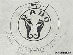 Rado Golden Horse Swiss Made Vintage Mens 35mm Stainless Steel Auto Watch FB69