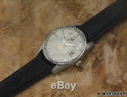 Rado Golden Horse Swiss Vintage Mens 36mm Stainless St Auto 1960s Watch MC321