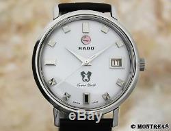 Rado Green Horse 1960s 36mm Rare Automatic Swiss Mens Vintage Watch FB83