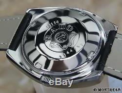 Rado Silver Horse Auto Vintage Collectible Swiss Made Men 37mm Dress Watch JR319