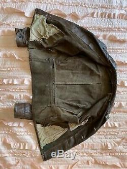 Rare Vintage 1930s horsehide leather jacket, 30s horse hide, Johnny Depp