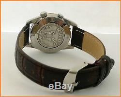 Rare Vintage Rado Green Horse Alarm 11790 Manual Wind 36mm Steel Men's Watch