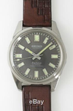 SEIKO SEA HORSE J13055 Black Dial Automatic Vintage Watch 1964's Overhauled