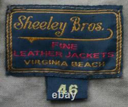 SHEELEY BROS. THE EDGEWATER ZIP UP HORSE HIDE WithGrommet ZIP JACKET DESIGN BUILD