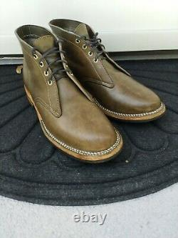Truman Boot Co. Vintage Military Horse Rump MTO Chukka 9.5D Stitchdown