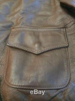 U. S. A. Army, A-2 Horse Hide, Leather Jacket, Mintavirex, Sizr 40 Med, Beautiful