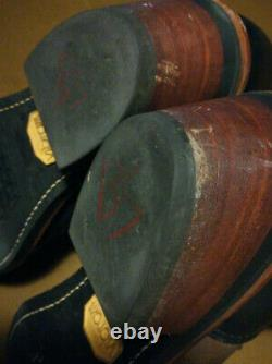 VTG CHIPPEWA USA 29408 BLACK BAY APACHE PACKER Work Boots Mens 10.5D Free Shipp