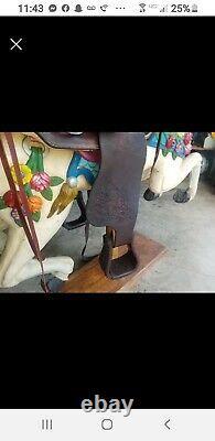 Vintage 14 Shirley Brown Western Horse Saddle