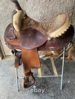 Vintage. Ammerman Barrel saddle