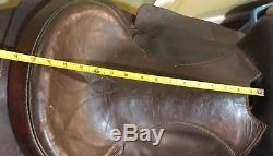 Vintage Collectors Western Roping Horse Equestrian Leather Saddle-15 FQHB