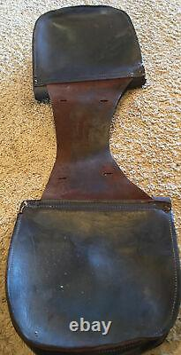 Vintage Cowboy Thick Leather Saddle Bags(Horse or Motorcycle) Good Condition