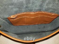 Vintage Dooney And Bourke Small Equestrian AWL Bag