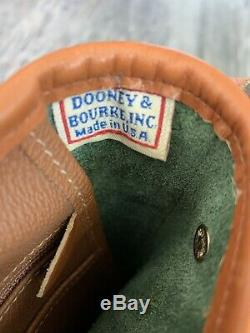 Vintage Dooney & Bourke AWL Fir Green R76 Cavalry Spectator Shoulder Bag Purse