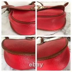 Vintage Dooney & Bourke Cavalry Saddle Bag