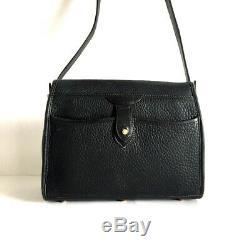 Vintage Dooney and Bourke All Weather Leather R26 Essex Equestrian Shoulder Bag
