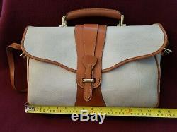 Vintage Dooney and Bourke Equestrian Briefcase