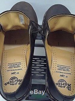 Vintage Dr. Martens 1561 Men's 4 Eyelet Gaucho Crazy Horse Brown Shoes US10 UK9