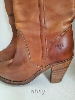Vintage Frye Riding Boots Style # 7115 Size 7 1/2 Very Good Vintage condition