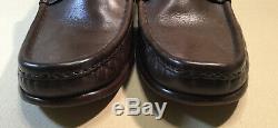 Vintage Gucci Mens Horse Bit Driving Loafers Slip On Shoes Sz 45 E(12 Us) Euc