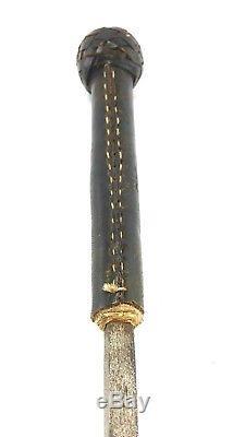 Vintage Hidden Dagger, Spike, Sword Equestrian Horse Leather Riding Crop