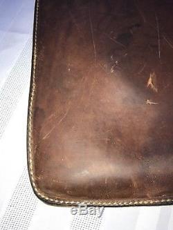 Vintage Hunter 402 B 26 Brown Leather Rifle Shotgun Scabbard Gun Case Horse Tack