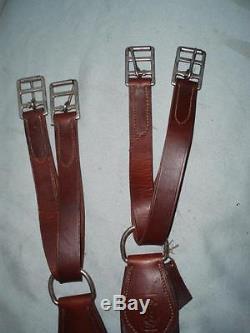 Vintage Italian Leather MONTURAS LUCAS TALAVERA Humane Horse Girth. 60.152 cm