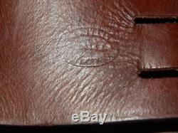 Vintage Leather Horse Saddle Bag. By GEO LAWRENCE SADDLER. USA