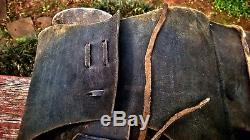 Vintage Leather Horse Saddle Bags Western Leather Satchel Home Decor