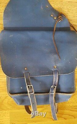 Vintage Leather Saddle Bags horse bicycle motorcycle