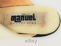 Vintage Manuel Collection Classic Mules. Horse Shoe. Very Rare! Ladies 7.0