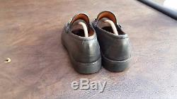 Vintage Mens Gucci Lug Bottom Horse Bit Loafers Shoes Sz 14 D Used Dress Casual
