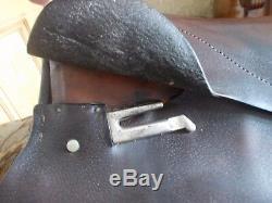 Vintage Old Pony Saddle- Prop/ Display/ Rocking Horse 14 1/2