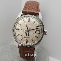 Vintage RADO Green Horse 343 942 17J Men's Manual wind watch CAL. AS 1901 1970s