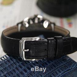 Vintage Rado Green Horse Automatic Black Dial Date Men's Dress Watch