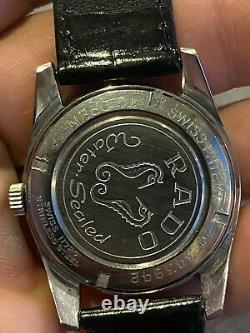 Vintage Rado Purple Horse 21 Jewels Mens Swiss Made Mechanical Watch