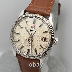Vintage Rado Purple horse 11761/2 Men's Automatioc watch 2793 swiss made 1970s