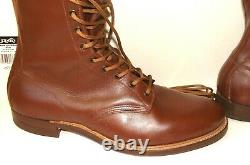 Vintage Sears & Roebuck WearMaster TANNED ELK Horse Riding Boots SIZE 10-1/2