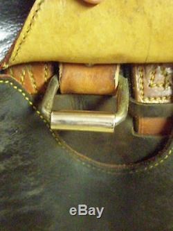 Vintage, Spanish flexible tree leather MONTURAS LUCAS saddle