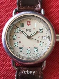 Vintage Swiss Army Cavalry Field Watch, Runs 100%. Nice Original, Refurbished