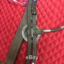 Vintage Victor Silver Headstall and Breastcollar