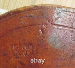 Vintage WWI U. S. Cavalry Leather Rifle Scabbard L-FCO 1918 A. R. S