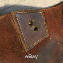 Vintage Western Cowboy Leather Motorcycle Horse Rodeo Saddle bags saddlebags