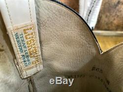 Vintage Womens Custom LUSKEY'S Buckaroo Western Rodeo Cowboy BOOTS Size 6.5 B