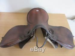 Vintage World War II WWII 1943 German Leather horse Saddle No 3