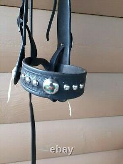 Vintage bridle headstall cowboy horse